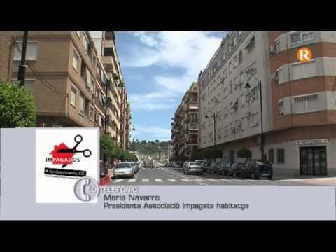 L'Associació Impagats habitatge presenta 130 reclamacions davant la Generalitat