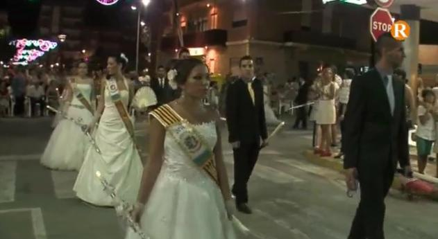 Almussafes celebra la processó més multitudinària de les seues festes
