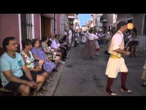 La festa en honor als Sants de la Pedra d'Albalat torna a celebrar-se amb les populars dansaes