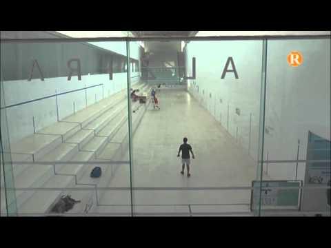 Els pelotaris de Benicull de xúquer començen el campionat de festes al trinquet de Alzira