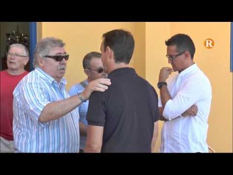 La UD Alzira presenta el seu nou entrenador, Juanjo Cháfer