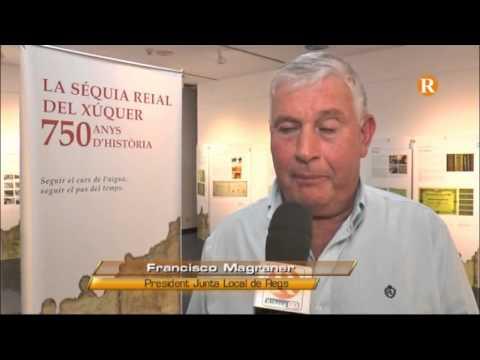 Almussafes inaugura la mostra sobre els 750 anys d'història de la Séquia Reial del Xúquer