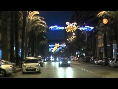 Alzira encén les llums de Nadal