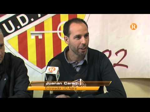 L'UD Alzira s'acomiada de Juanjo Chàfer i presenta al nou entrenador