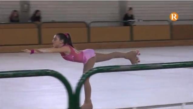 El Trofeu d'Hivern de patinatge artístic reuneix 245 patinadores a Alberic