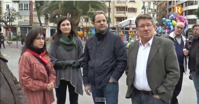 Cèsar Luena, número dos del PSOE, defensa la necessitat de canvi polític encapçalat per Isabel Aguilar