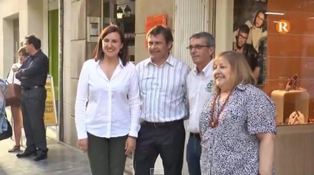 Català recolza l'acte central del PP de la Ribera Baixa a Sueca
