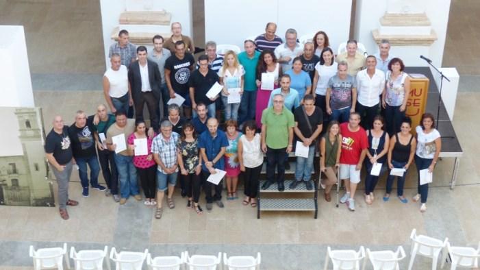 El Taller d'Ocupació d'Algemesí tanca el programa amb la formació de 30 alumnes i els tres primers contractes de treball