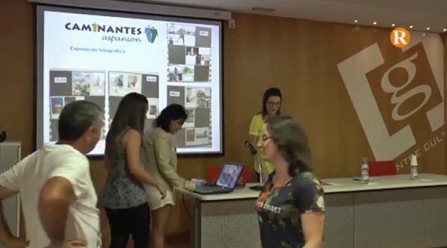 El Grup Caminantes exposa a Guadassuar la seua lluita contra el càncer