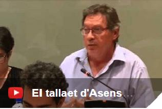 El tallaet del regidor d'Esquerra Unida, Asensio García