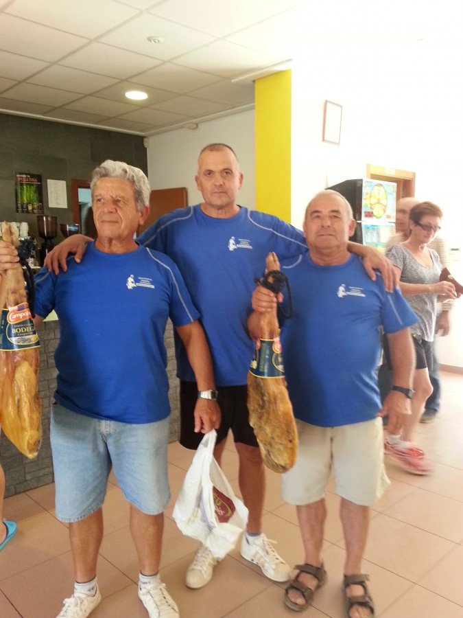 Manuel Navarro i Ramón Parra guanyen el Campionat de Petanca d'Estiu