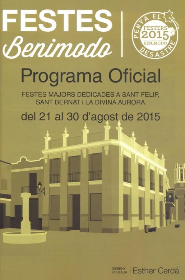 Benimodo acoge sus fiestas mayores dedicadas a Sant Felip, Sant Bernat y la Divina Aurora