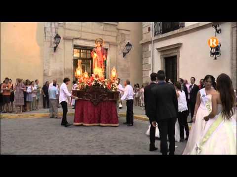 Alberic conclou la festivitat de Sant Llorenç amb la tradicional processó