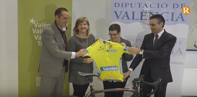 La Diputació dóna suport a la Volta Comunitat Valenciana 2016 que arrancarà el pròxim tres de febrer