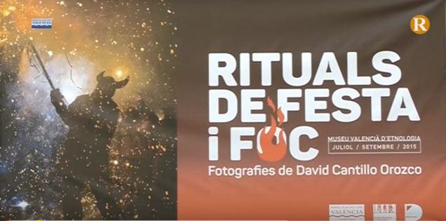 L'exposició itinerant 'Rituals de festa i foc' arriba a Sumacàrcer