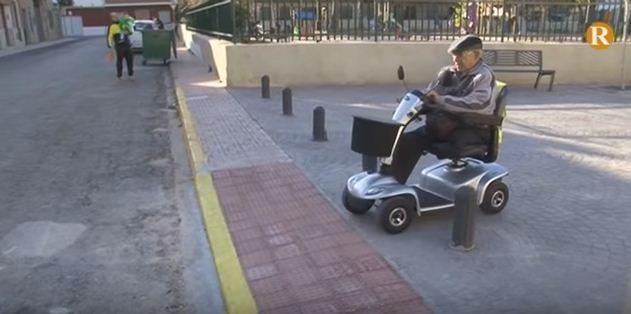 Alcàntera de Xúquer millora l'accessibilitat a la gent en mobilitat reduïda