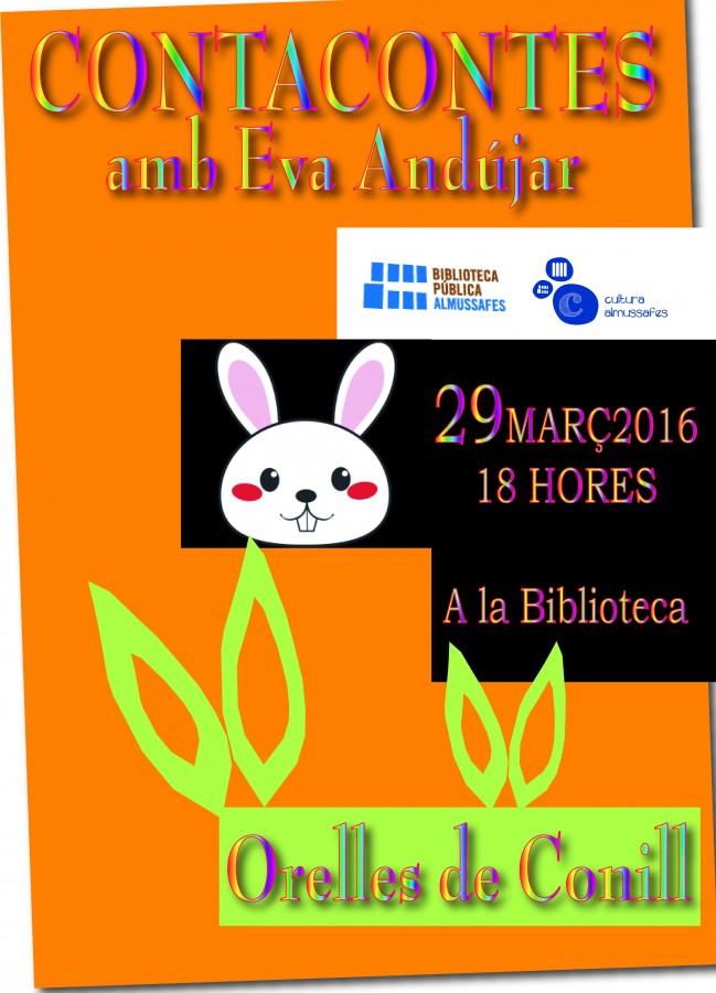 La Biblioteca Pública Municipal d'Almussafes celebra la Pasqua amb una sessió de contacontes