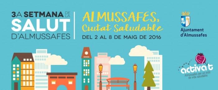 """Almussafes convoca la seua III Setmana de la Salut amb el lema """"Ciutat Saludable"""""""