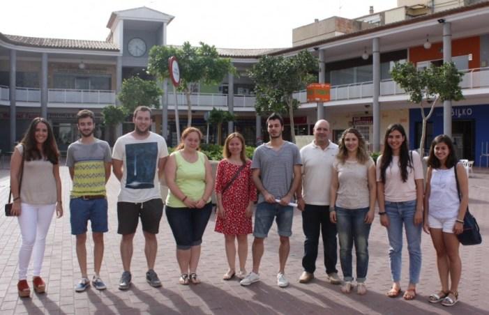 L'Ajuntament de Turís rep als seleccionats per la Dipu et Beca