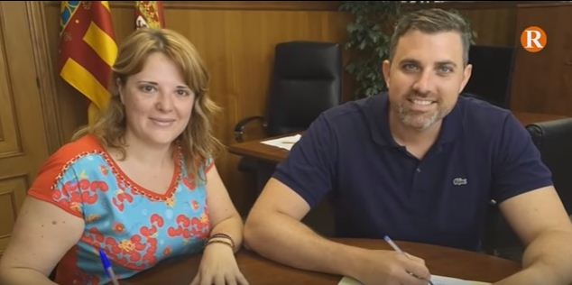 Els alcaldes de Cullera i Llaurí  signen un acord de col•laboració en matèria d'ocupació
