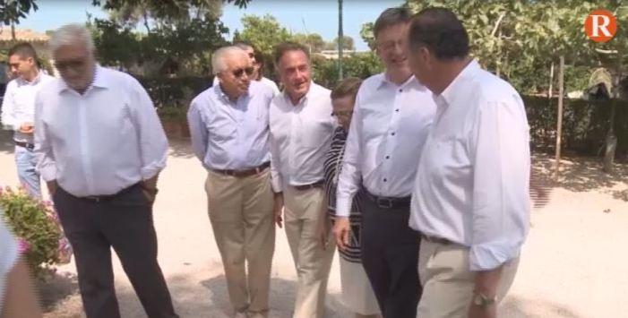 El President de la Generalitat dina amb empresaris valencians