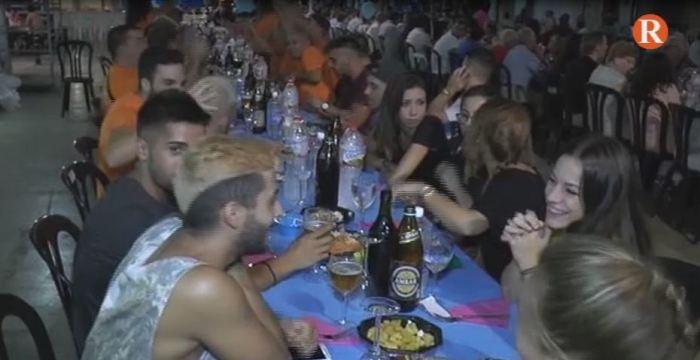 Sopar a la carretera d'Alginet