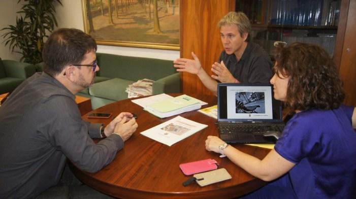 El Área de Cooperación Municipal colabora con Corbera en la construcción de un pabellón cubierto
