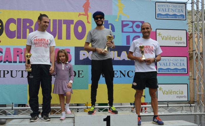 El marroquí Zitane i la valenciana Checa guanyen la XXXIII Volta a peu de Cullera
