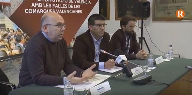 Diputació anuncia ajudes extraordinàries per a les Falles si són declarades Patrimoni Immaterial de la Humanitat per la UNESCO