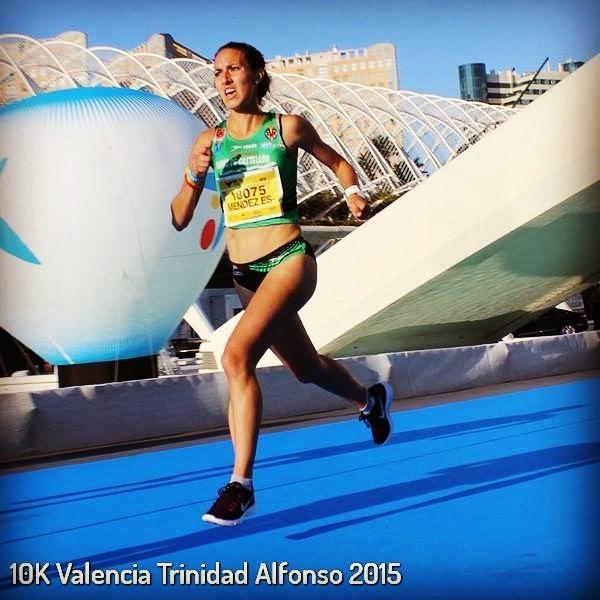 La corredora almussafenya Laura Méndez aconseguix un nou podi en la 10K de València