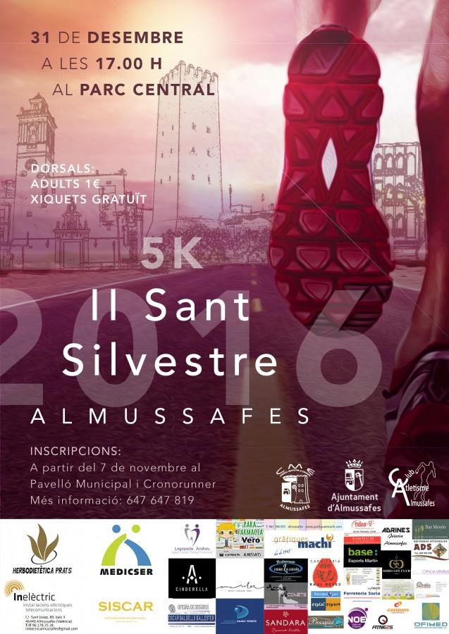 El Club d'Atletisme Almussafes ja compta amb més d'un centenar d'inscrits per a la seua segona Sant Silvestre