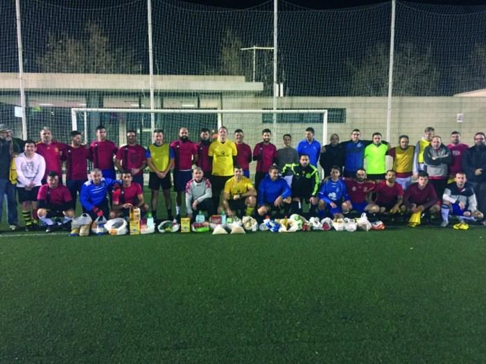 Almussafes celebra la segona edició del triangular de futbol 7 solidari