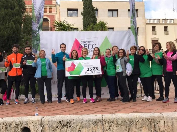 Alberic recauda 2.523 euros en la carrera contra el cáncer