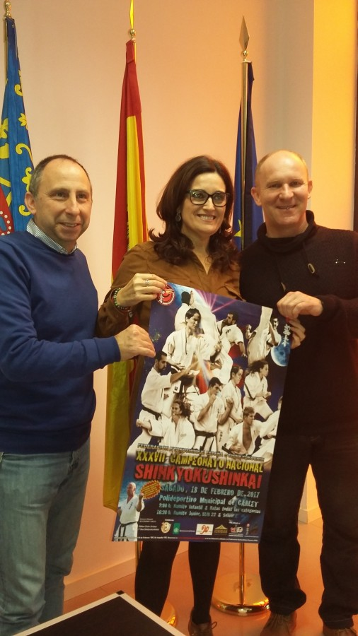 Carlet acull el XXXVII Campionat Nacional Shinkyokushinkai amb la presència de 261 competidors de tota la geografia espanyola
