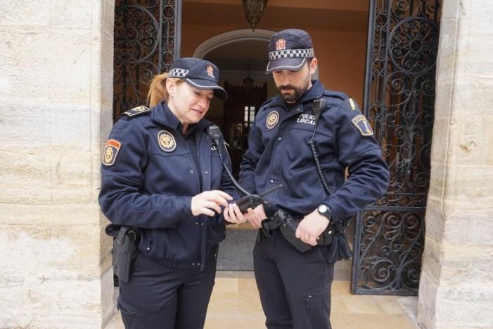 La Policia de Cullera implanta un sistema de comunicació encriptat