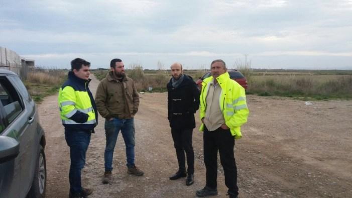 L'asfaltat dels camins rurals de Cullera afectats per les obres de l'A-38 es realitzarà este mes