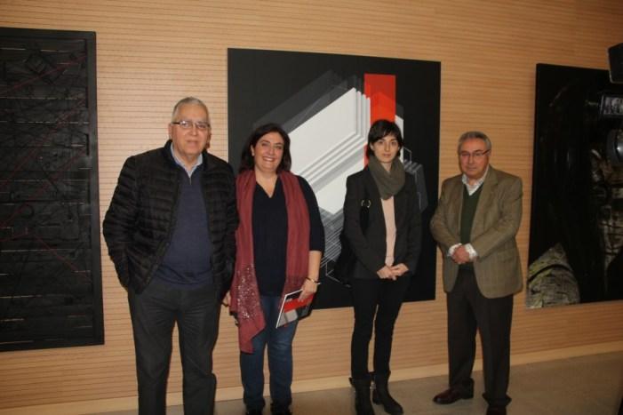 Carolina Valls, guanyadora de la VIII edició de la Biennal de Pintura