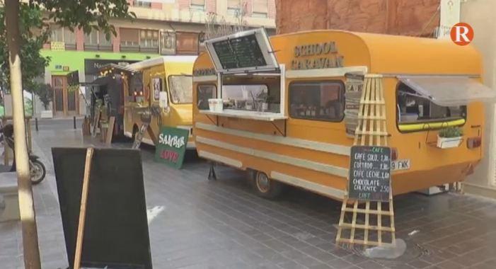 Els food trucks ja estan a les Falles de València