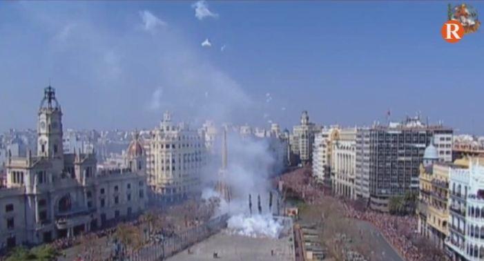 Les mascletades de València encaren la recta final