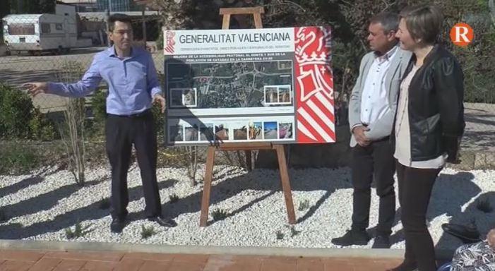 El Consell inverteix 250.000€ en la millora dels accessos de Catadau