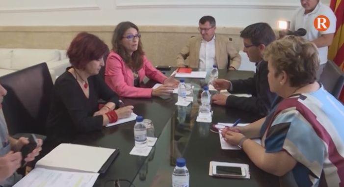 Oltra i Rodríguez es reuneixen per continuar coordinant les polítiques socials
