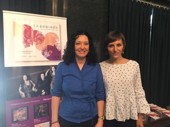 """La agrupación valenciana Harmonia del Parnás actuará el próximo domingo 28 de mayo en Benifaió con su nueva obra """"La Dorinda"""""""