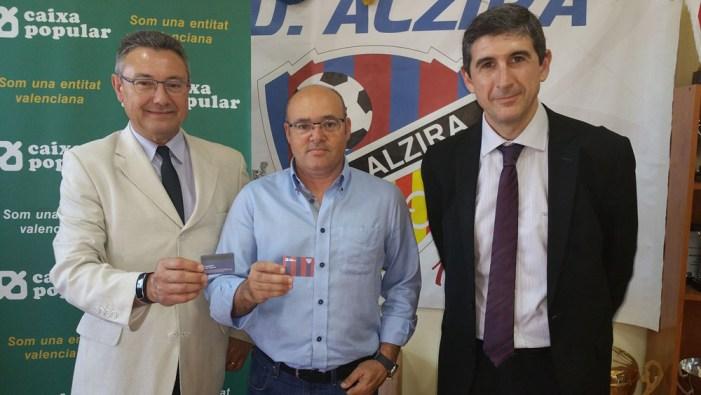 UD Alzira signa un  conveni amb Caixa Popular