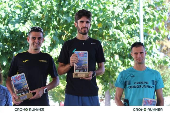 Rafa Murcia i Sandra Murcia vencen en la mitja marató de muntanya de Tous