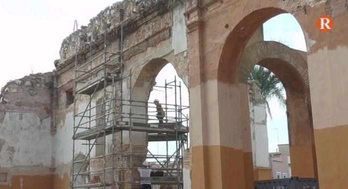 Els treballs de consolidació del convent de Santa Bàrbara arranquen amb una subvenció de 50.000€