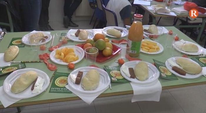 FUVAMA fomenta l'alimentació saludable entre l'alumnat d'Albalat de la Ribera