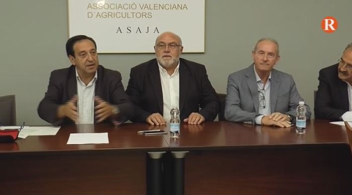 Reunió de l'executiva nacional d'AVA-Asaja a la Finca Sinyent