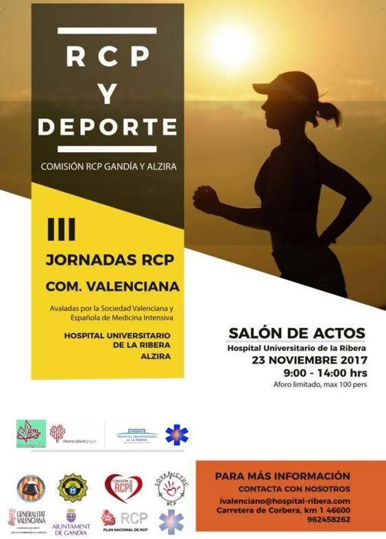 Mañana miércoles, a las 09:00 horas, se celebra la III Jornadas de RCP y Deporte.