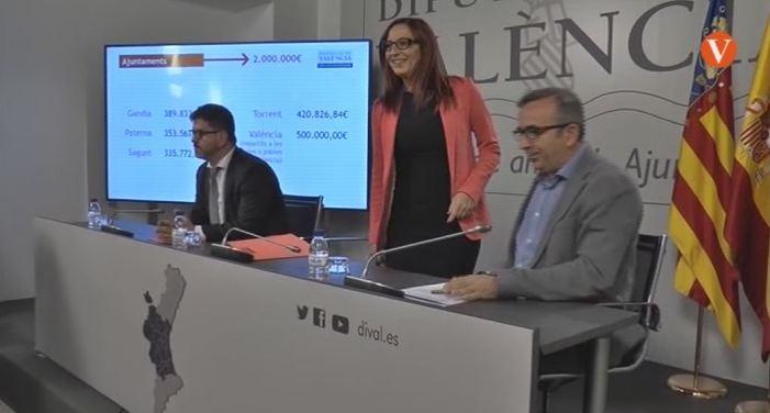 La Diputació dedica una partida de 2,5 milions d'euros per a finançar projectes de mancomunitats i grans ciutats