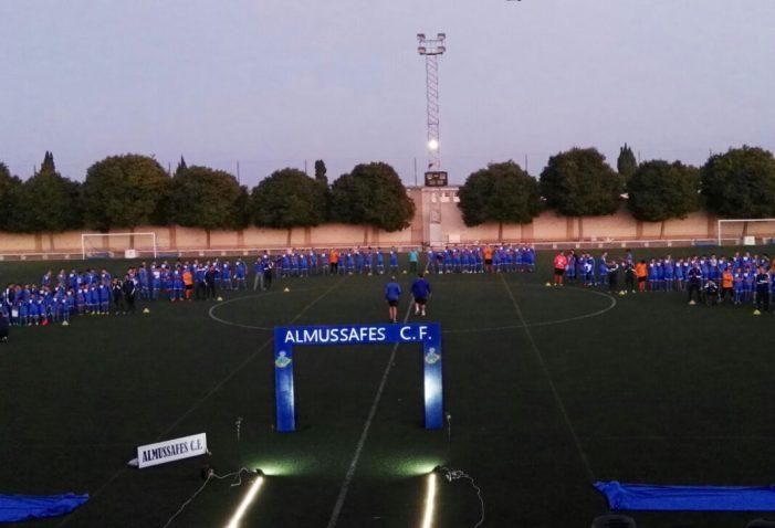 El Club de Futbol Almussafes presenta als 15 equips que lluitaran pels títols de campions esta temporada